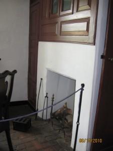 Interior of John Bartram's House