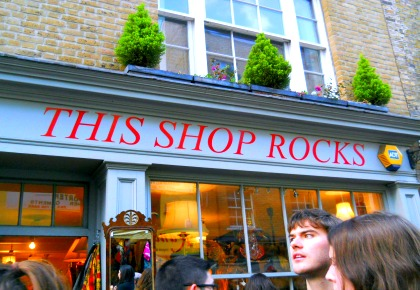 this shop rocks, portobello london